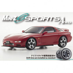 MINI-Z AWD MAZDA RX-7 FD3S Red