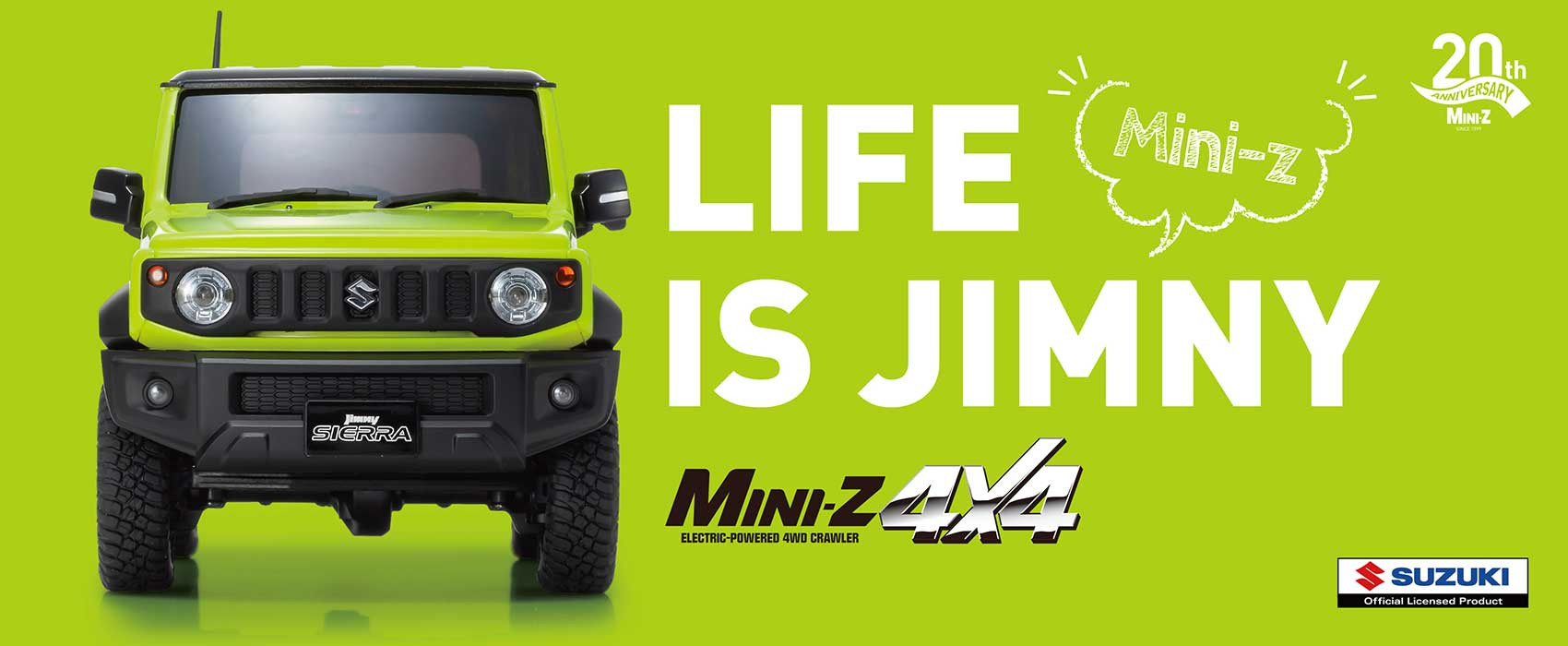 Mini Z 4x4 Suzuki Jimmy